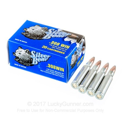 Image 3 of Silver Bear .308 (7.62X51) Ammo