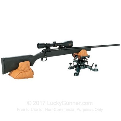 Large image of Shooter's Ridge Tri-Stance Gun Rest with Leather Sandbag For Sale