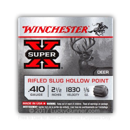 Image 9 of Winchester 410 Gauge Ammo