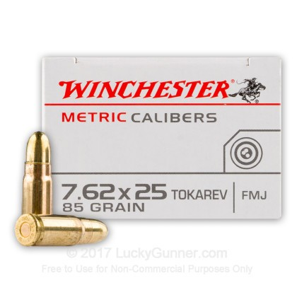 Image 2 of Winchester 7.62mm Tokarev Ammo