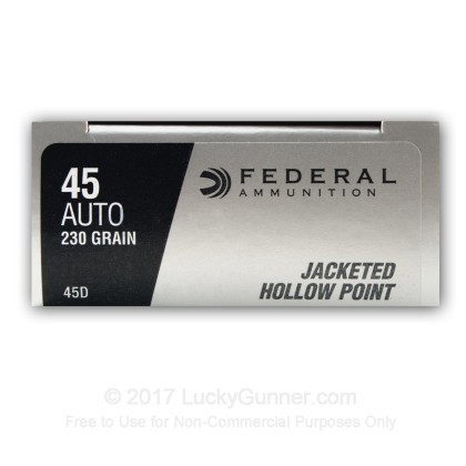 Image 12 of Federal .45 ACP (Auto) Ammo