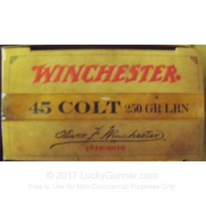 Image 3 of Winchester .45 Long Colt Ammo