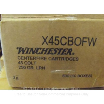 Image 4 of Winchester .45 Long Colt Ammo