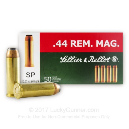 Image 1 of Sellier & Bellot .44 Magnum Ammo