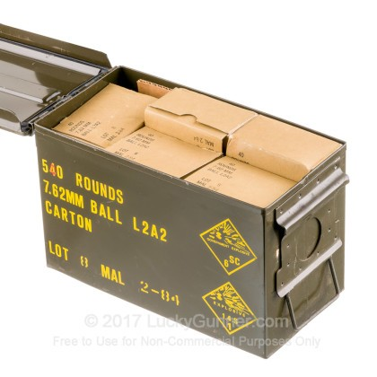 Image 2 of Military Surplus .308 (7.62X51) Ammo