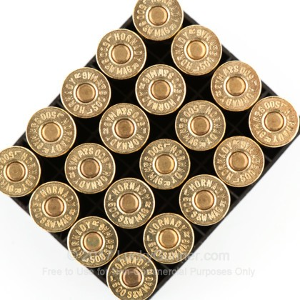 Image 4 of Hornady .500 S&W Magnum Ammo