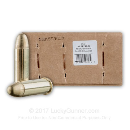 Image 1 of American Quality Ammunition .38 Special Ammo