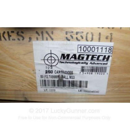 Image 2 of Magtech .50 BMG Ammo