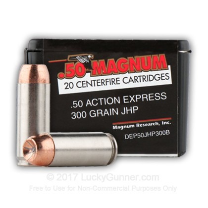Image 1 of Magnum Research .50 Action Express Ammo