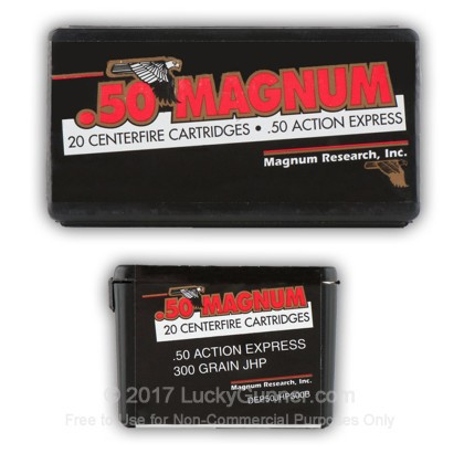 Image 8 of Magnum Research .50 Action Express Ammo
