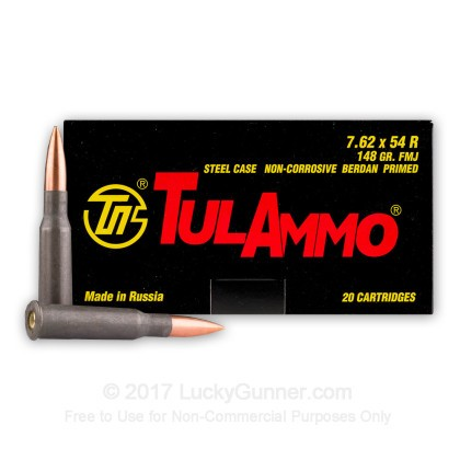 Image 2 of Tula Cartridge Works 7.62x54r Ammo