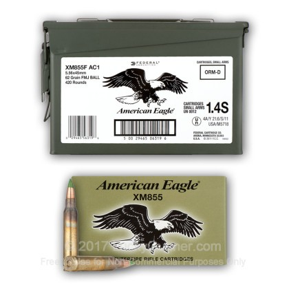 Image 12 of Federal 5.56x45mm Ammo