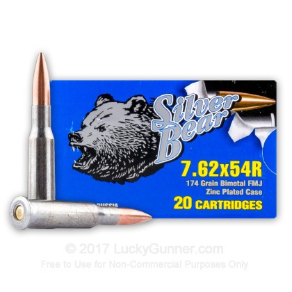 Image 2 of Silver Bear 7.62x54r Ammo