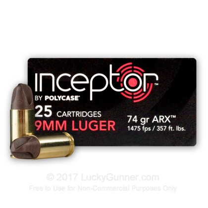 Image 1 of Polycase 9mm Luger (9x19) Ammo