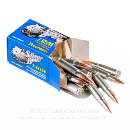 Image 3 of Silver Bear 7.62X39 Ammo