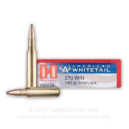 Image 1 of Hornady .270 Winchester Ammo