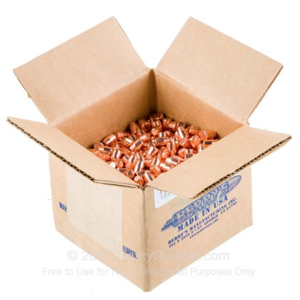Large image of Berry's 9mm Plated Bullets For Sale - 9mm 115 gr FP