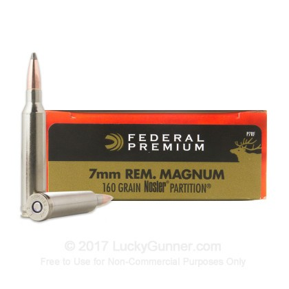 Image 1 of Federal 7mm Remington Magnum Ammo