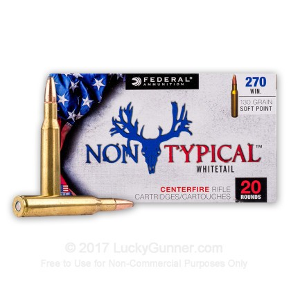 Image 2 of Federal .270 Winchester Ammo