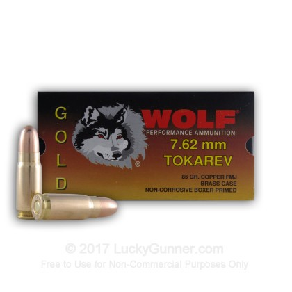 Image 1 of Wolf 7.62mm Tokarev Ammo