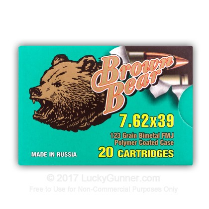 Image 13 of Brown Bear 7.62X39 Ammo