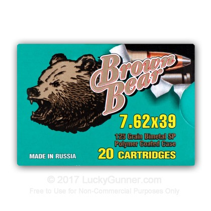 Image 3 of Brown Bear 7.62X39 Ammo