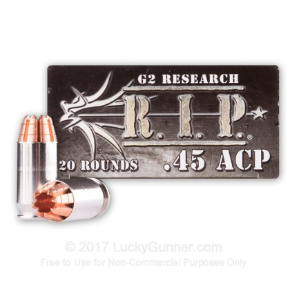 Image 1 of G2 Research .45 ACP (Auto) Ammo
