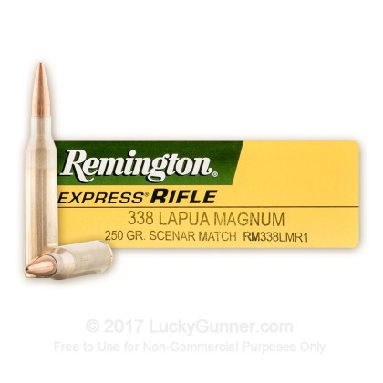 Image 1 of Remington .338 Lapua Magnum Ammo