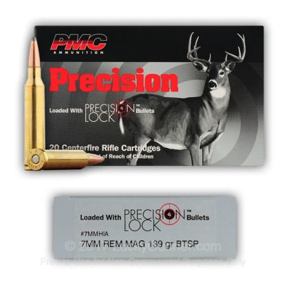Image 9 of PMC 7mm Remington Magnum Ammo