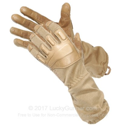 Large image of Tactical Blackhawk Gloves - Fury with Nomex - Coyote Tan by Blackhawk