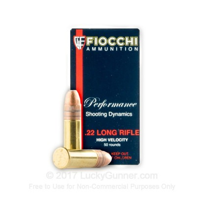 Image 2 of Fiocchi .22 Long Rifle (LR) Ammo