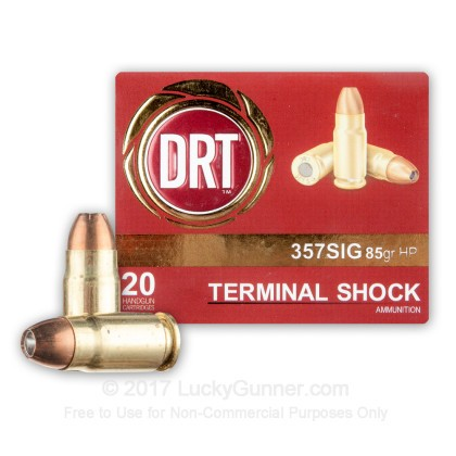 Image 1 of Dynamic Research Technologies .357 Sig Ammo