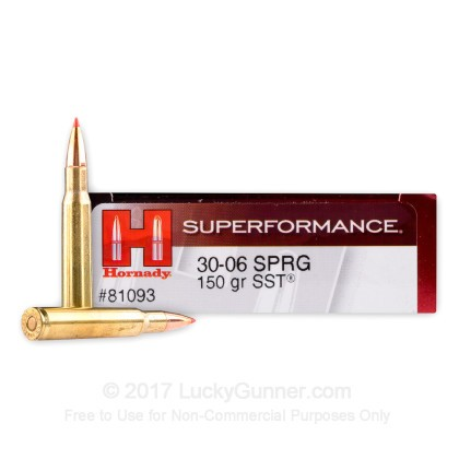 Image 1 of Hornady .30-06 Ammo