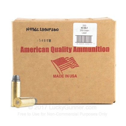 Image 1 of American Quality Ammunition .45 Long Colt Ammo