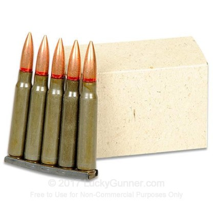 Image 3 of Romanian Military Surplus 8mm Mauser Ammo