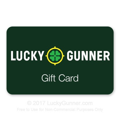 Large image of LuckyGunner $25 Gift Card