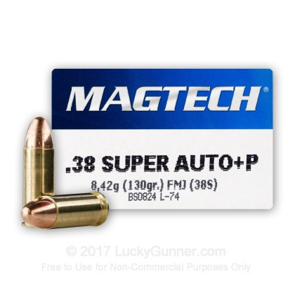 Image 1 of Magtech .38 Super Ammo