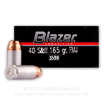 Image 1 of Blazer .40 S&W (Smith & Wesson) Ammo
