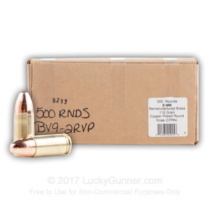 Image 11 of BVAC 9mm Luger (9x19) Ammo