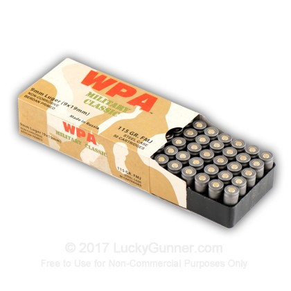 Image 11 of Wolf 9mm Luger (9x19) Ammo