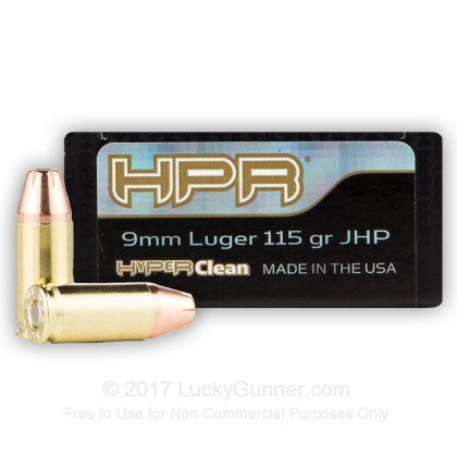 Image 2 of HPR 9mm Luger (9x19) Ammo