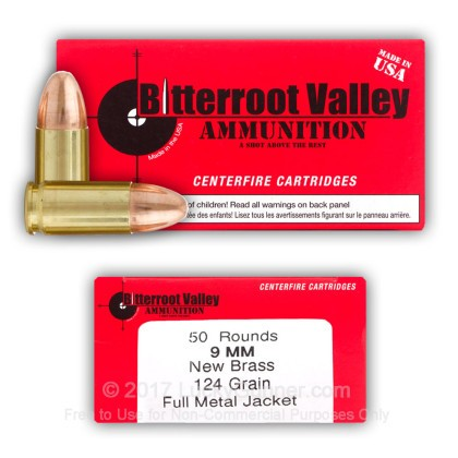 Image 4 of BVAC 9mm Luger (9x19) Ammo