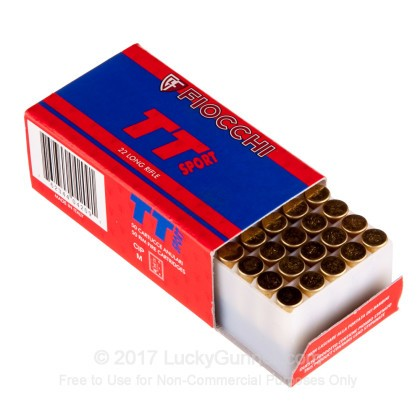Image 3 of Fiocchi .22 Long Rifle (LR) Ammo