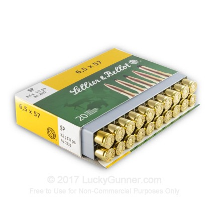 Image 3 of Sellier & Bellot 6.5x57 Mauser Ammo