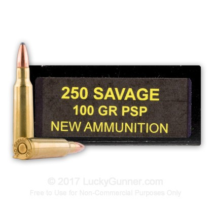Image 1 of PCI .250 SAVAGE Ammo