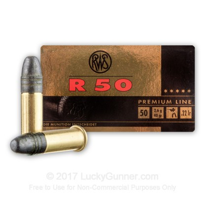 Image 2 of RWS .22 Long Rifle (LR) Ammo