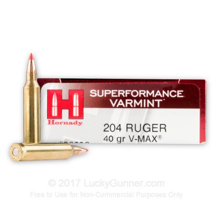 Image 1 of Hornady .204 Ruger Ammo