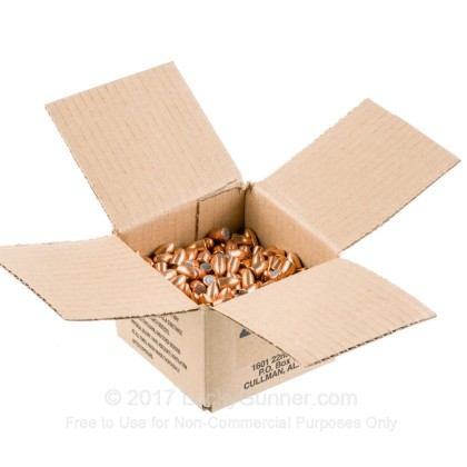 """Large image of Premium 9mm (.355"""") Bullets for Sale - 115 Grain FMJ Bullets in Stock by Zero Bullets - 500 Projectiles"""