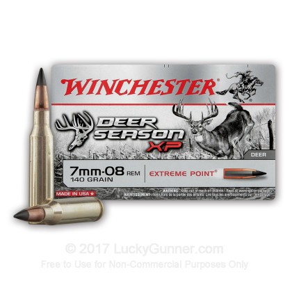 Image 2 of Winchester 7mm-08 Remington Ammo