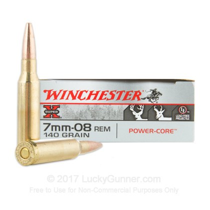 Image 1 of Winchester 7mm-08 Remington Ammo